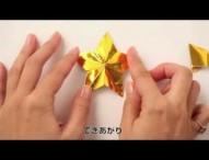 クリスマスやパーティにぴったり!おりがみ星の作り方
