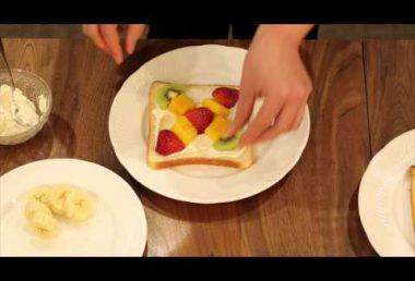 【レシピ】フルーツサンド