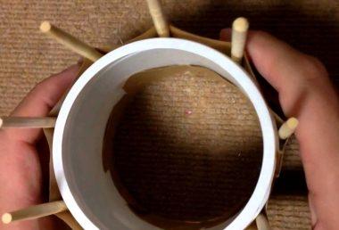 子供でもできるマフラーの簡単な編み方♪