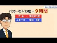 中1地理 日本の時差・地域区分