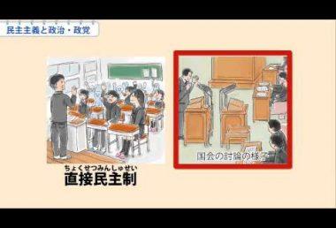 中3社会 民主主義と政治・政党