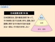 中3社会 日本国憲法①