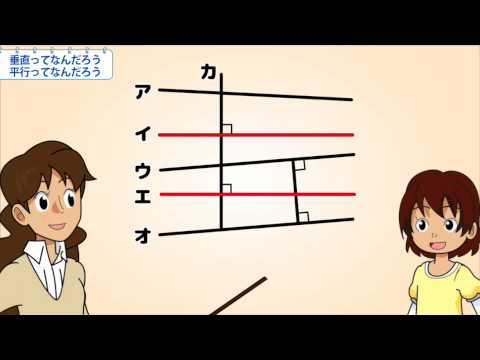 小4算数 垂直ってなんだろう。平行ってなんだろう。