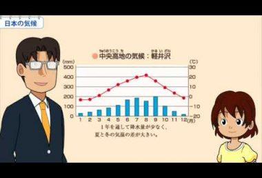 小5社会 日本の気候