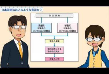 小6社会 日本国憲法はどのような憲法か?