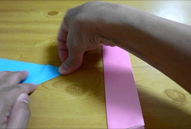 折り紙『手裏剣』(Shuriken)の折り方~折り紙2枚で折る作り方~