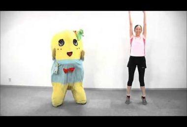 夏休みなので【ふなっしー】ラジオ体操第1【踊ってみた】