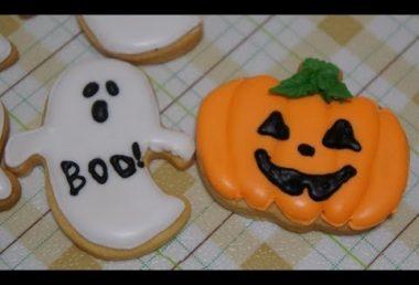 【レシピ】ハロウィンクッキー~初級・中級編~ Easy Halloween Cookie tutorial