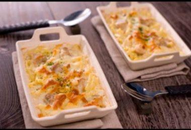 【レシピ】ホワイトソースも失敗なし!チキンとマカロニの簡単グラタン ~Gratin~