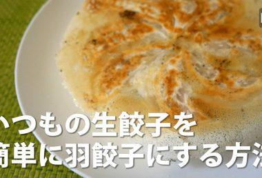 簡単!羽根つき餃子をつくる方法【ビエボ】 | 料理・レシピ